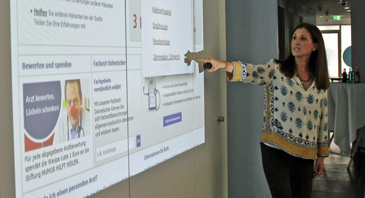 Kiefer-Gesichtszentrum Frankfurt + Vortrag über Online-Bewertungsportale